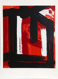 Abstract Silkscreen by Edvins Strautmanis