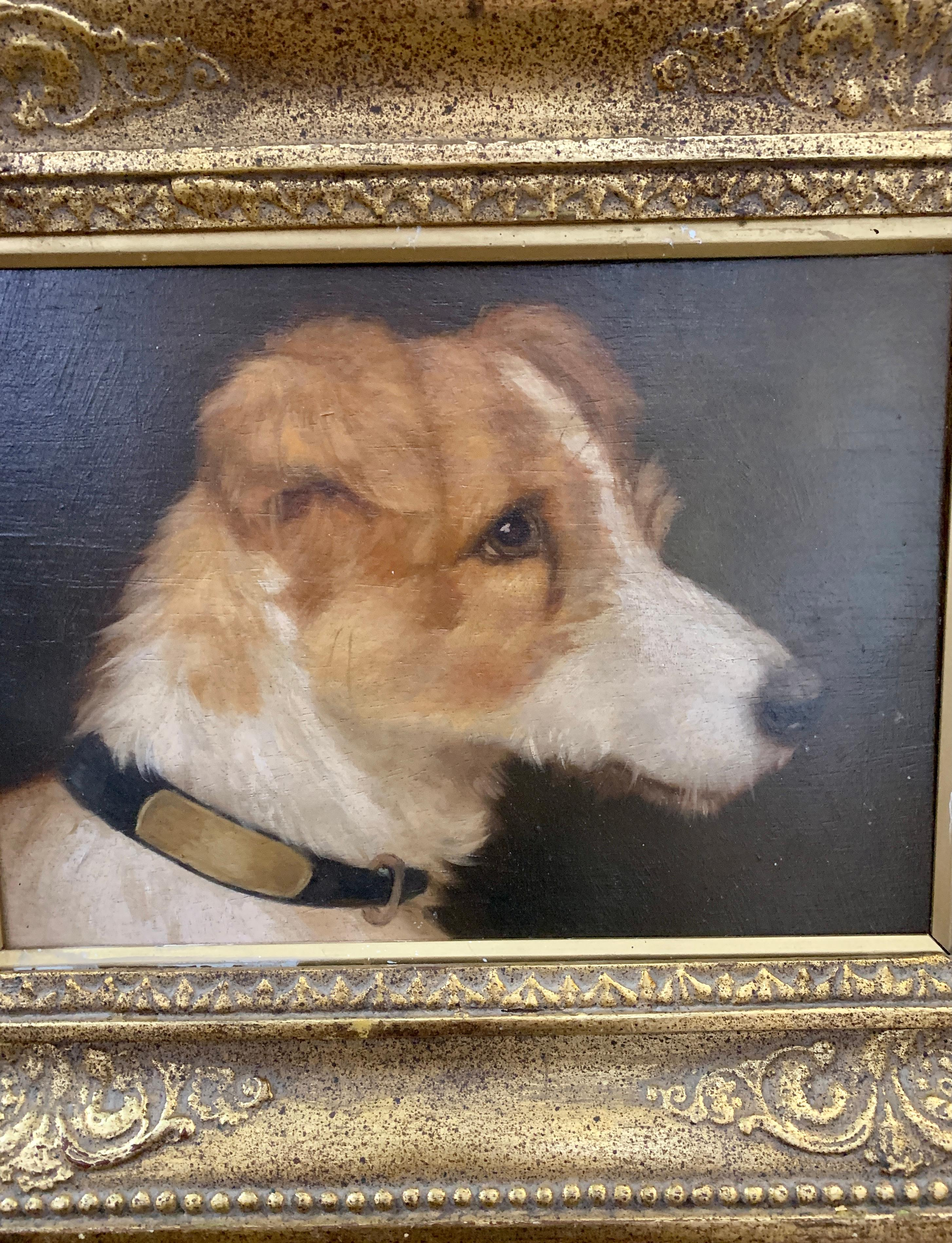 Oil Painting Portrait Pudgy Pug