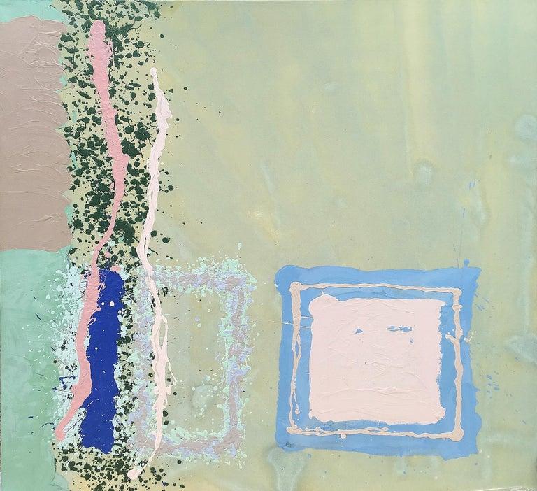 Edward Avedisian Abstract Painting - Into the Misty