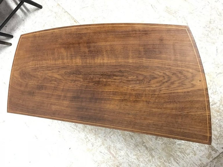 Edward Barnsley, Sycamore And Hollywood Inlaid Table With