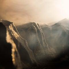 Mount Watkins Sunset No. 1 (with 3D printed landscape)
