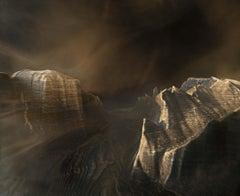 Yosemite Gateway No. 2 (with 3D printed landscape)