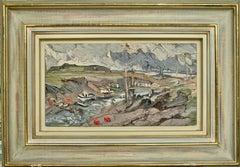 ESTUARY near BREAN down SOMERSET Edward Beale contempary English artist