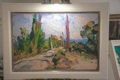 THE WHITE HOUSE on the road toSAINT FERREOL. EDWARD BEALE British contemporary