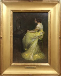 Edward Bell, The Mirror, Oil on Board