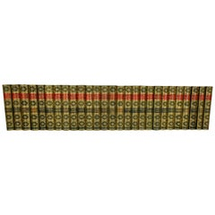 Edward Bulwer-Lytton Leather Bound Set of Novels in 27 Volumes
