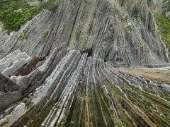 Basque Coast #1, UNESCO Geopark, Zumaia, Spain – Edward Burtynsky, Photography