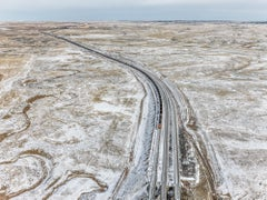 Coal Train, Near Gillette, Wyoming, USA – Edward Burtynsky, Landscape, Train