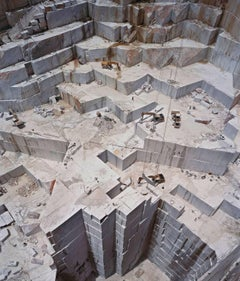 "Edward Burtynsky ""Iberia Quarries #3, Bencatel Portugal, 2006"" C -Print Photo"