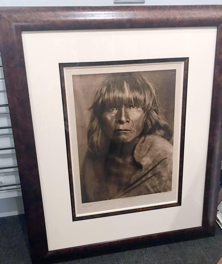 A Hopi Man - Photograph by Edward Curtis