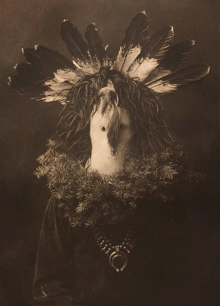 Edward Curtis, Haschogan - Navaho, 1904, Photogravure from Volume 1 - Photograph by Edward Curtis