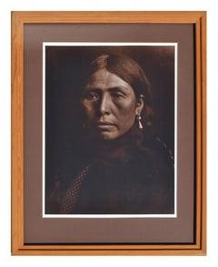 Portrait of Coastal Salish Woman, Lake Lummi