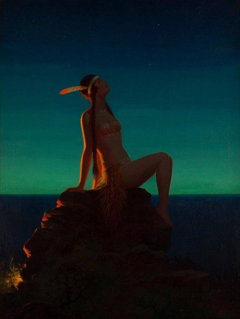 Evening Star - Painting by Edward Eggleston