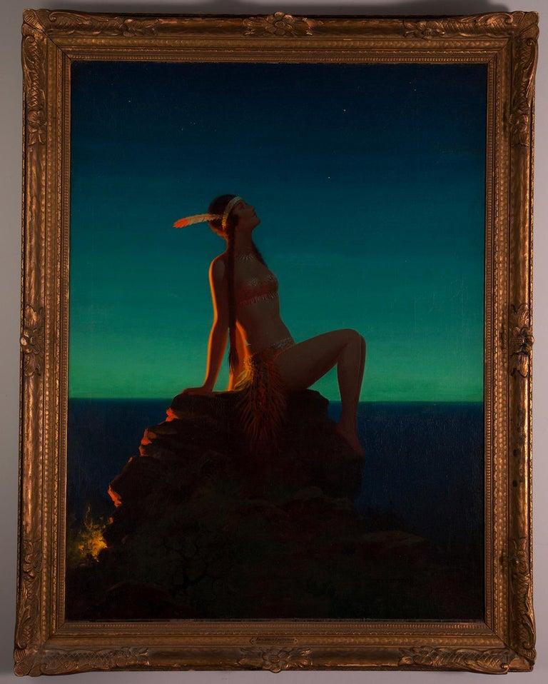 Edward Eggleston Figurative Painting - Evening Star