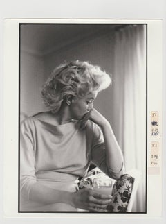 Marilyn Monroe, print of 1988 from original negative