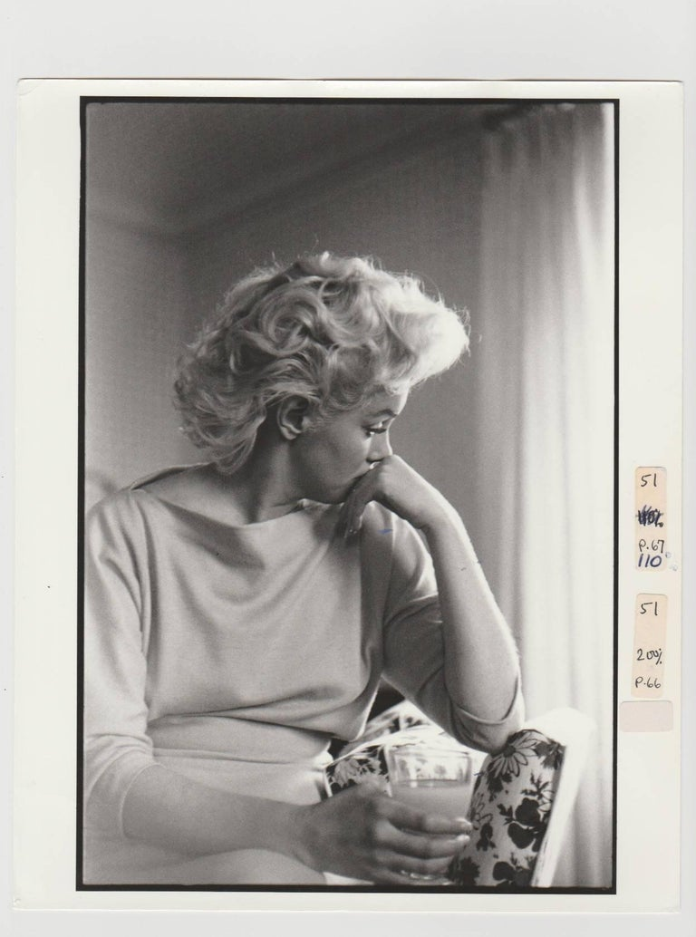 Edward Feingersh Portrait Photograph - Marilyn Monroe, 4 Days in New York, 1955