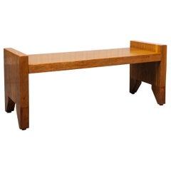Edward Garratt Maple Craftsman Bench