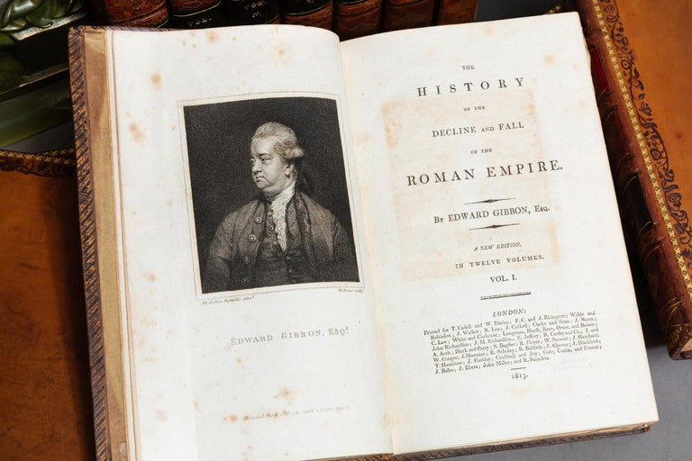 English Edward Gibbon, The History of the Decline and Fall of the Roman Empire For Sale