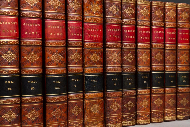 Edward Gibbon, The History of the Decline and Fall of the Roman Empire In Good Condition For Sale In New York, NY