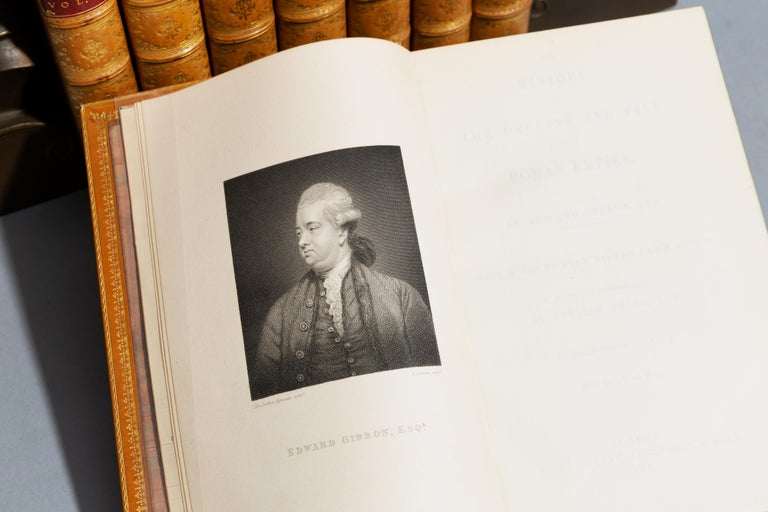 Leather Edward Gibbon, The History of The Decline and Fall of The Roman Empire