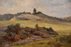 Oil Painting 'Reigate Mill' by Edward Henry Holder