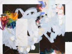 EDWARD HOLLAND The Scorpion, mixed media abstract painting