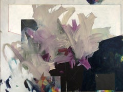 EDWARD HOLLAND, The Virgin (Version 11), abstract painting on canvas