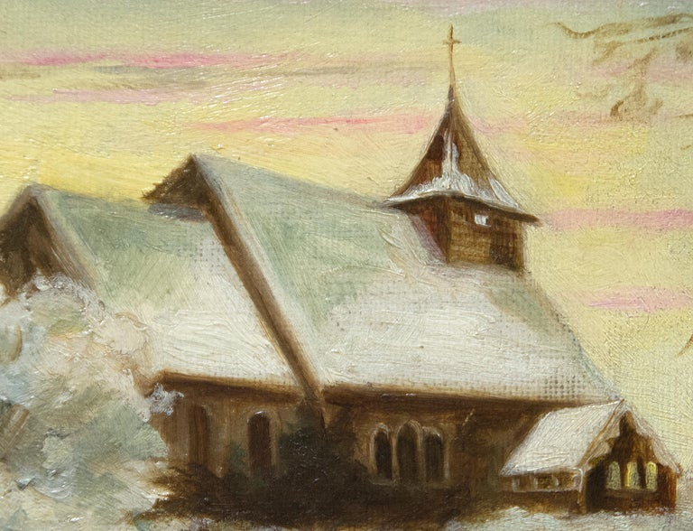 Church and Landscape For Sale 2