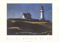 "EDWARD HOPPER Lighthouse Hill 25"" x 34.5"" poster Realism Black"