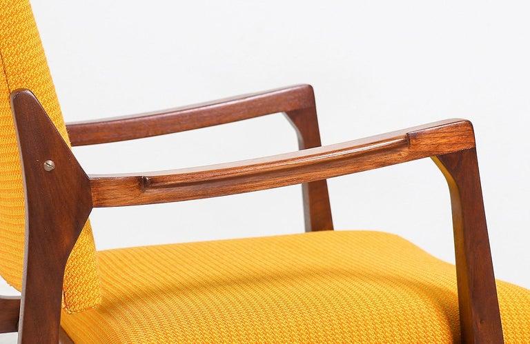 Fabric Edward J. Wormley Armchair for Dunbar For Sale