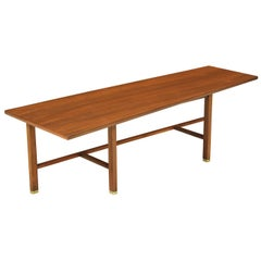 Edward J. Wormley Asymmetrical Coffee Table for Dunbar