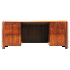 Edward J. Wormley Executive Leather Top Desk for Dunbar