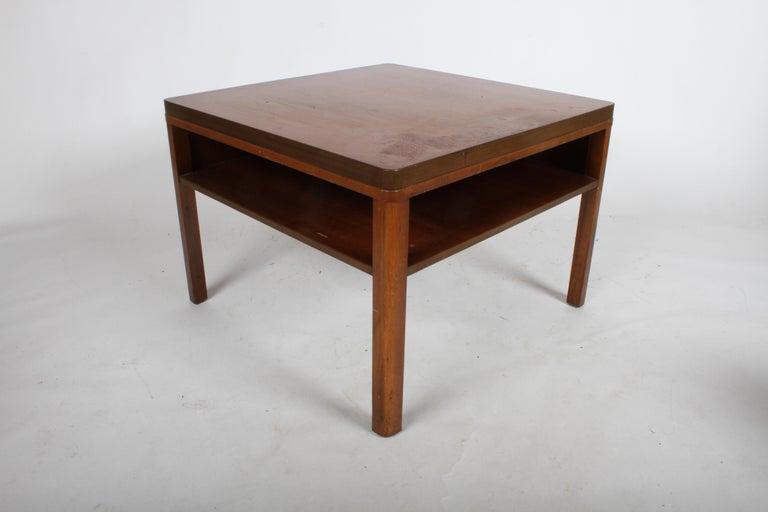 Mid-Century Modern Edward J. Wormley for Dunbar, 1940s Bookshelf End Table For Sale