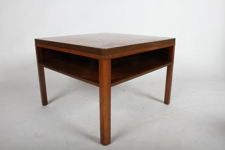 American Edward J. Wormley for Dunbar, 1940s Bookshelf End Table For Sale