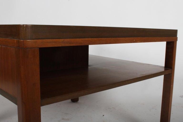 Mid-20th Century Edward J. Wormley for Dunbar, 1940s Bookshelf End Table For Sale