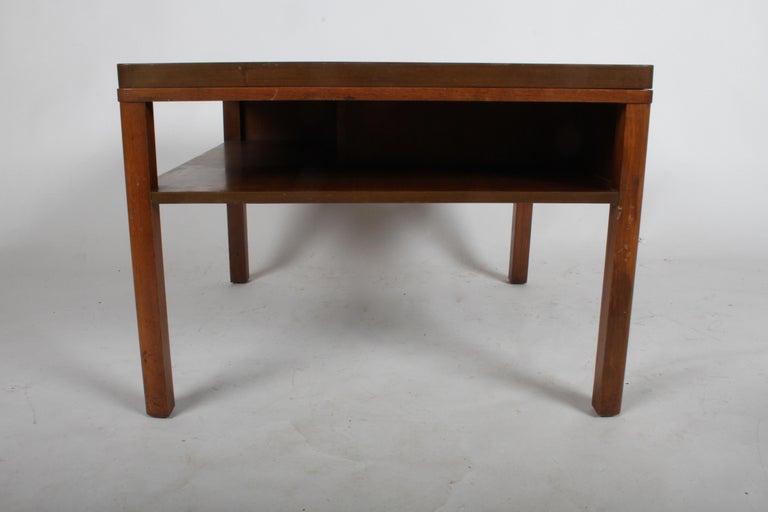 Mahogany Edward J. Wormley for Dunbar, 1940s Bookshelf End Table For Sale