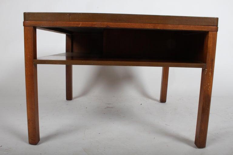 Edward J. Wormley for Dunbar, 1940s Bookshelf End Table For Sale 1