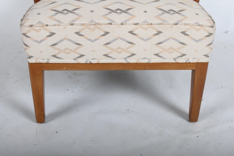 Edward J. Wormley for Dunbar Arm Lounge Chair For Sale 3