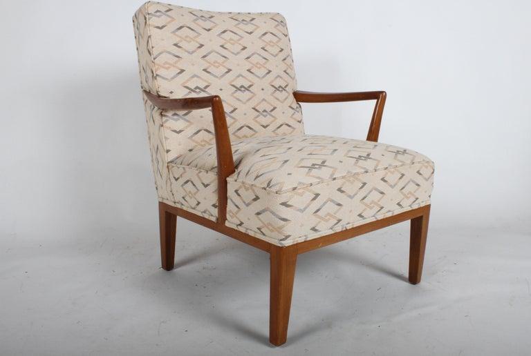 Edward J. Wormley for Dunbar Arm Lounge Chair For Sale 4