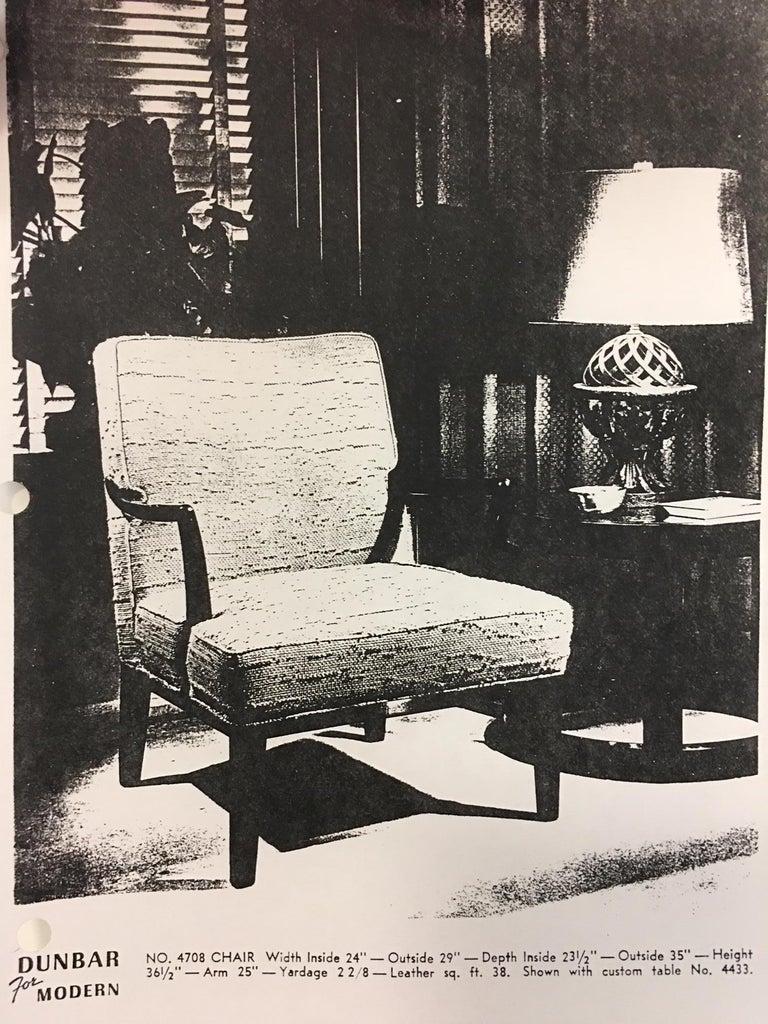 Edward J. Wormley for Dunbar Arm Lounge Chair For Sale 5