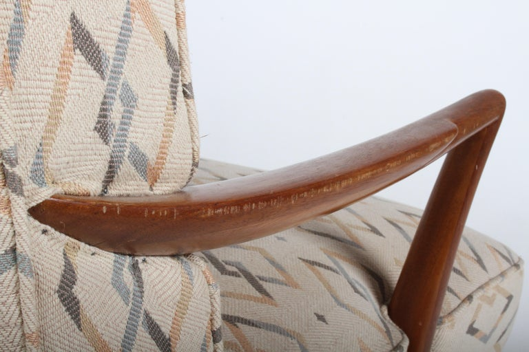 Edward J. Wormley for Dunbar Arm Lounge Chair For Sale 6