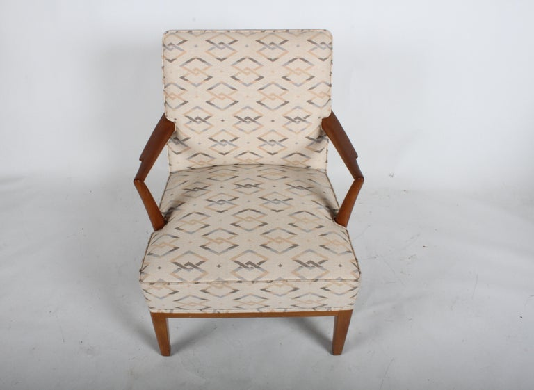 Edward J. Wormley for Dunbar Arm Lounge Chair For Sale 7