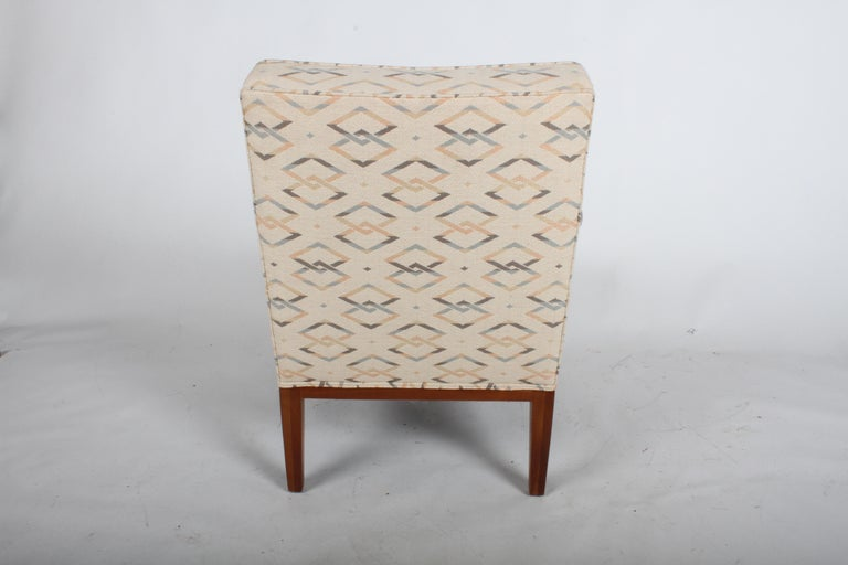 Mid-20th Century Edward J. Wormley for Dunbar Arm Lounge Chair For Sale