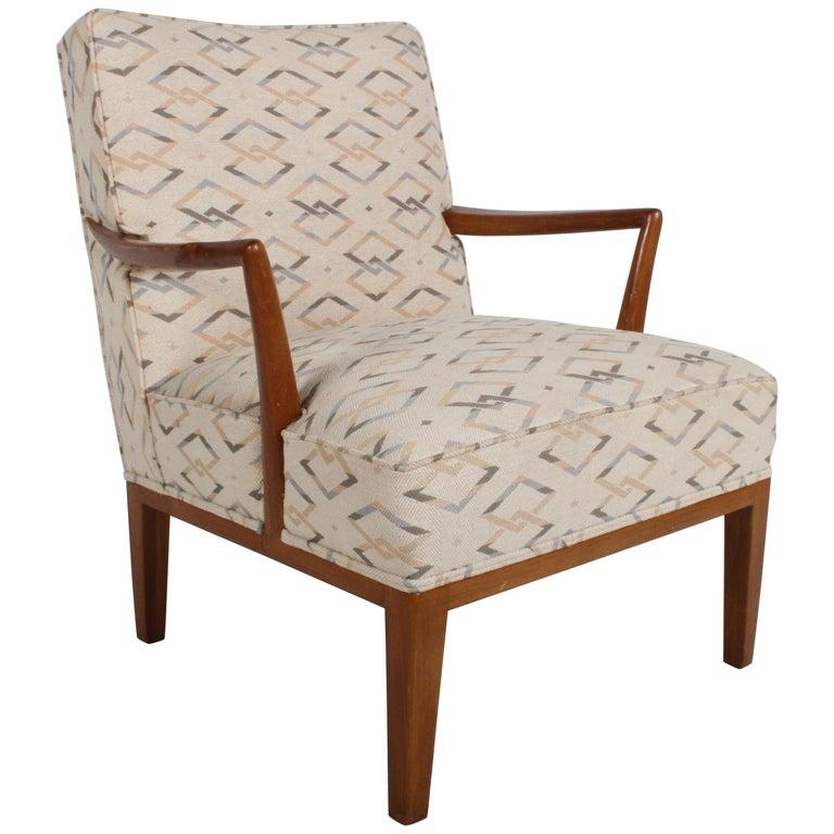 Edward J. Wormley for Dunbar Arm Lounge Chair For Sale