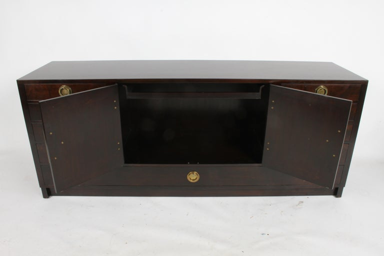Edward J. Wormley for Dunbar Asian Inspired Sideboard, circa 1950s In Good Condition For Sale In St. Louis, MO
