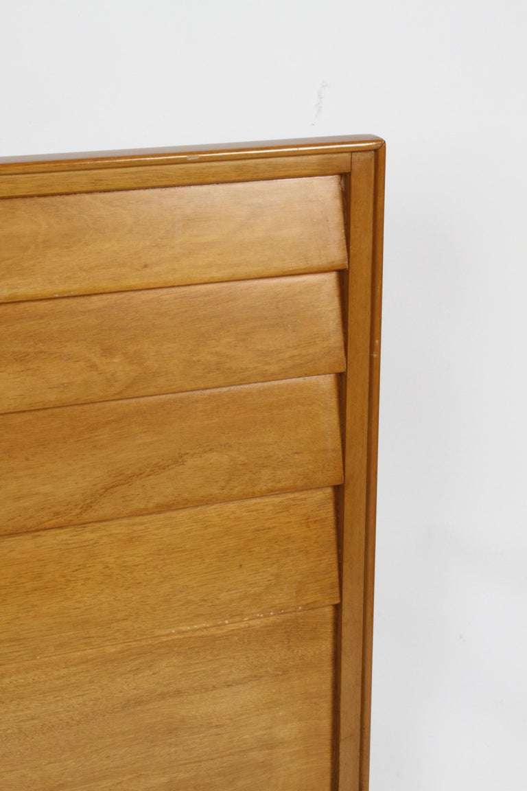 Mid-Century Modern Edward J. Wormley for Dunbar Full Size Headboard For Sale