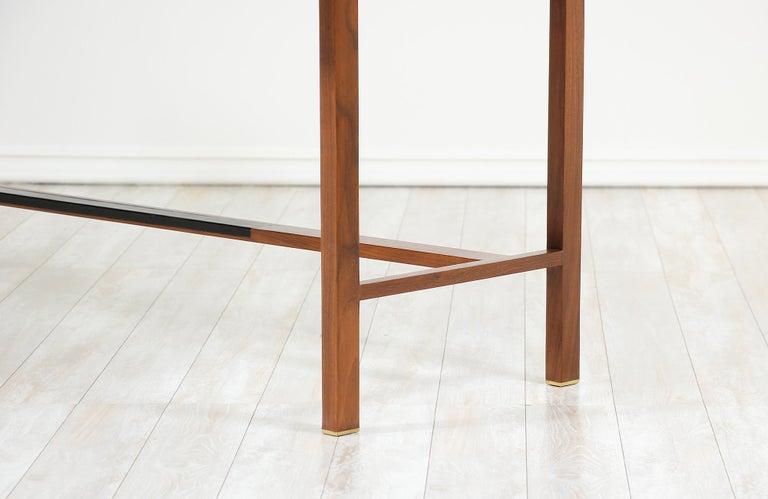 Edward J. Wormley Model #452 Tambour-Door Rosewood Desk for Dunbar For Sale 11