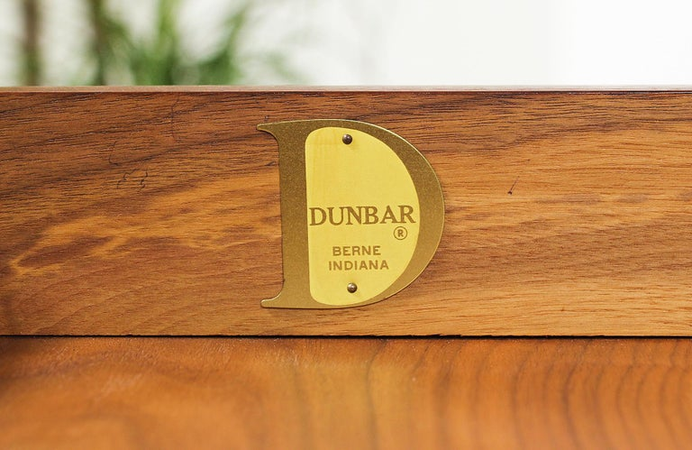 Edward J. Wormley Model #452 Tambour-Door Rosewood Desk for Dunbar For Sale 12