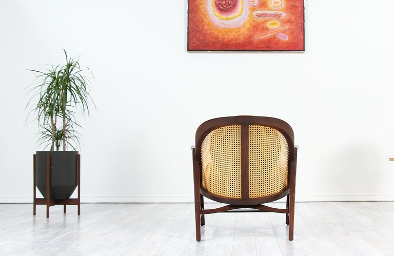 Edward J. Wormley Model 5700-A Lounge Chair for Dunbar In Excellent Condition In Los Angeles, CA