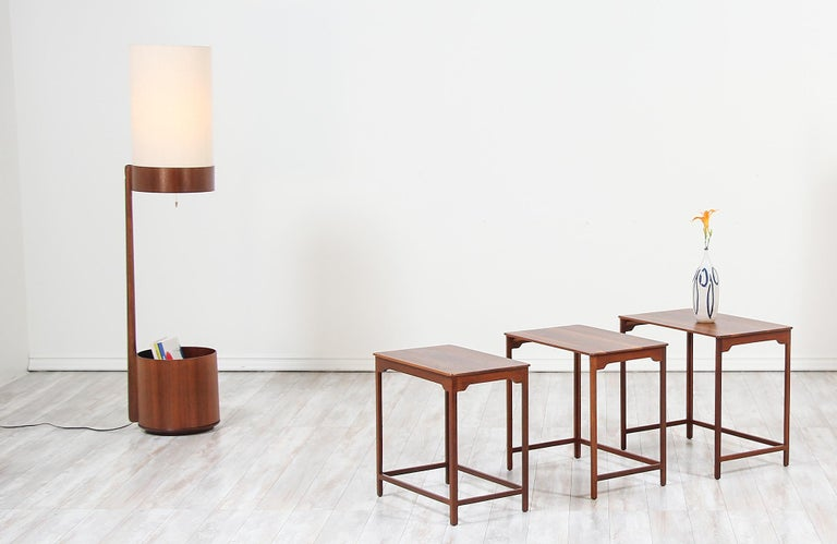 American Edward J. Wormley Nesting Tables for Dunbar For Sale